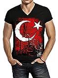 ORKANI - Türkei One - Herren T-Shirt schwarz (L)