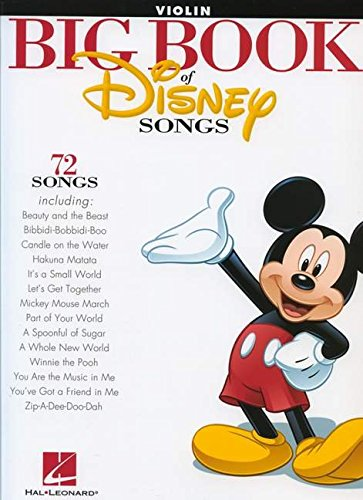 The Big Book of Disney Songs - Violin (Book Only) (Sheet Music Violin compare prices)