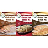 Gluten Free Bread Mix (3 Mix Flavor Pack)