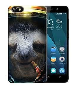 PrintFunny Designer Printed Case For HuaweiHonor4X