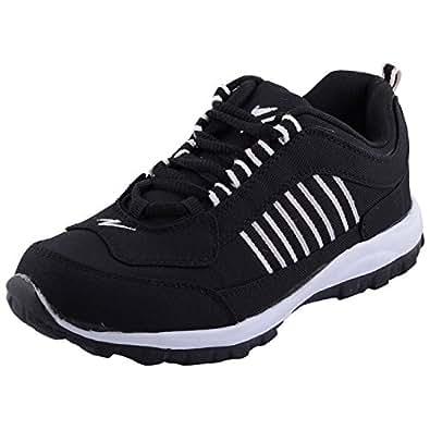 shoe track s black canvas sports shoes 10 buy