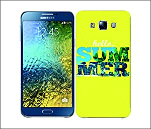 Galaxy Printed 2901 Summer Snapshot Helo Hard Cover for Samsung S3 NEO