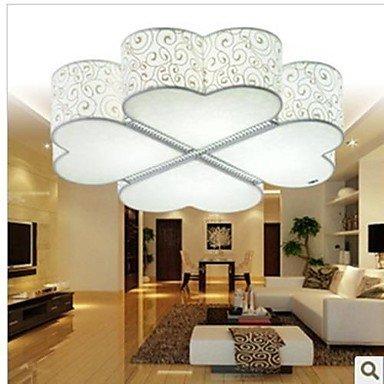 Led Flush Mount, 4 Lamps, Moderncartoon Style Plastic Finished 22 V 20W.