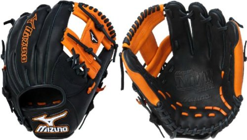 Infielders Glove Size Glove Black Orange Size