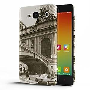Koveru Designer Protective Back Shell Case Cover for Xiaomi Redmi 2 - Monument and Bridge