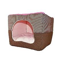 ALEKO® LBD14012S Soft Pet Dog Cat Bed House Kennel Doggy Warm Cushion Basket 16.5