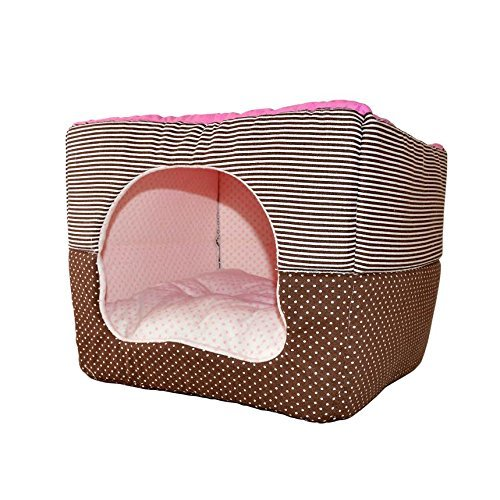 ALEKO-LBD14012S-Soft-Pet-Dog-Cat-Bed-House-Kennel-Doggy-Warm-Cushion-Basket-165