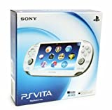 Crystal White Sony Playstation PS Vita Portable Handheld Game System Console [Region Free Unlocked 3G + Wi-Fi Model]