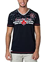 CANADIAN PEAK Camiseta Manga Corta Jogass (Azul Marino)