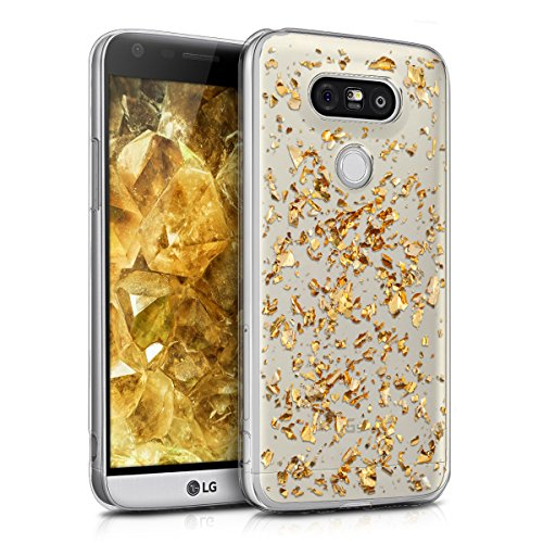 kwmobile-crystal-tpu-silicone-case-for-lg-g5-g5-se-in-gold-transparent-design-flakes