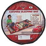 Kids Camping Sleeping Bag, Made in USA, 2 Lb, Disney Pixars Cars