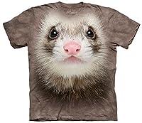 Ferret Face Frettchen Erwachsenen T-Shirt von The Mountain