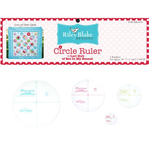 Lori Holt Circle Ruler Kit 10'' 7'' 5 2.5 помады still still stl312 помада 312 стойкая endless kiss шоколад 4 г