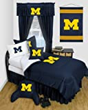 University of Michigan Wolverines Dorm Bedding Comforter Set