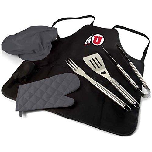 Utah BBQ Apron Tote Pro (Black)