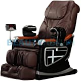 Forever Rest Premium Massage Chair *Body Scan*BUILT IN HEAT (TOP OF THE LINE) 10yr. Warranty (Dark Brown)