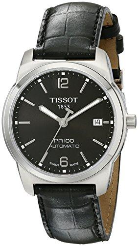 天梭 Tissot T0494071605700 时尚经典 男士皮带机械手表图片
