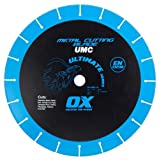 OX OX-UMC-14 Ultimate Metal Cutting 14-Inch Chop Saw Blade