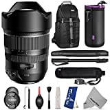 Tamron AFA012C700 15-30mm F 2.8 Di VC USD Wide-Angle Lens for CANON DSLR Cameras w Essential Photo and Travel Bundle