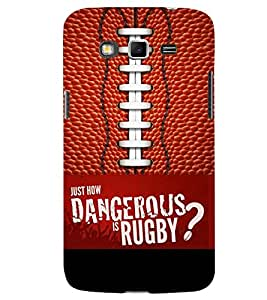PRINTSWAG RUGBY Designer Back Cover Case for SAMSUNG GALAXY GRAND 2