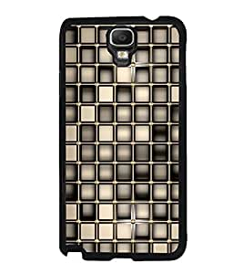 Fuson Premium 2D Back Case Cover Checks pattern With Multi Background Degined For Samsung Galaxy Note 3 Neo N7505
