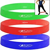 Aylio 3 Loop Bands for Exercise (Low, Medium, Heavy)