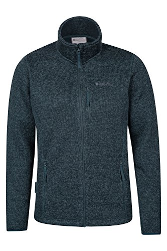 Mountain Warehouse Glyder Mens Fleece Blu petrolio XXX-Large