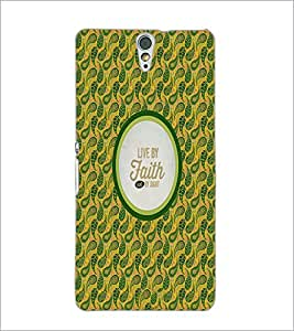 PrintDhaba Quote D-4237 Back Case Cover for SONY XPERIA C5 ULTRA (Multi-Coloured)