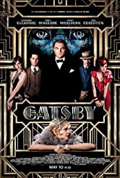 The Great Gatsby (2013) 27 x 40 Movie Poster Leonardo DiCaprio, Joel Edgerton, Tobey Maguire, Style A