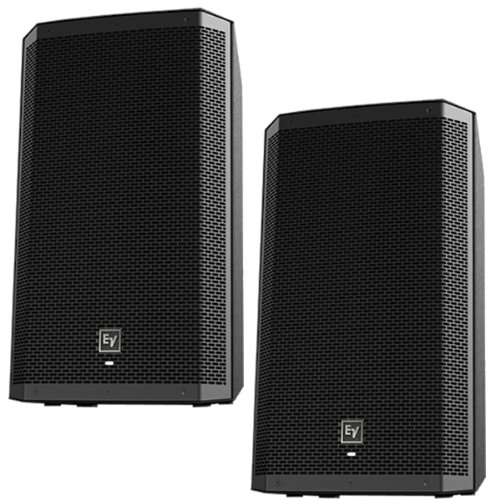 Ev Electro-Voice Zlx12P Powered Active 2-Way Pa Speakers Pair Zlx 12P New