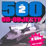 500 3D objects : Volume 2 (2C�d�rom)