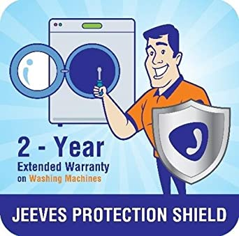 Jeeves 2 Year Extended Warranty For Washing Machine Front