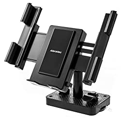 Aleratec Universal Tablet/Smartphone Desktop/Wall Mount Stand, Permanent or Portable Suction Cup