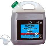AZ(エーゼット) MEO-012 バイク用 4Tエンジンオイル10W-40 SL/MA2 4L [FULLY SYNTHETIC/全合成/化学合成油] (4サイクルエンジンオイル/4ストオイル/バイクオイル)EG044