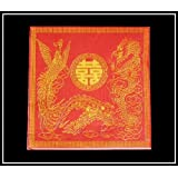20 X CHINESE ORIENTAL PAPER NAPKINS TISSUES (DOUBLE HAPPINESS 02)