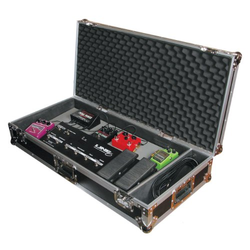 instrument accessories odyssey fzgpedal32w flight zone 32 guitar pedal board ata case with wheels. Black Bedroom Furniture Sets. Home Design Ideas