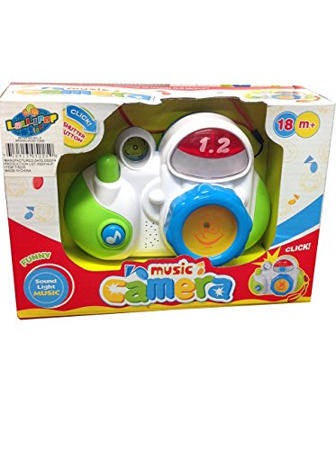 Baby Music Camera with Sound Light Music