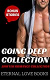 ROMANCE: VAMPIRE: Going Deep Collection (BBW Fantasy Pregnancy MENAGE Collection) (New Adult Short Stories Paranormal)