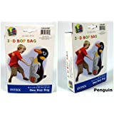 Intex 3D Bop Bag Blow Up Inflatable PENGUIN