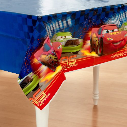 Disney Cars Plastic Tablecover - 1