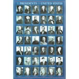 The Presidents of the United States (Grid) Art Poster Print