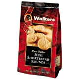 Walkers Mini Shortbread Rounds, Scottish Shortbread, 150g