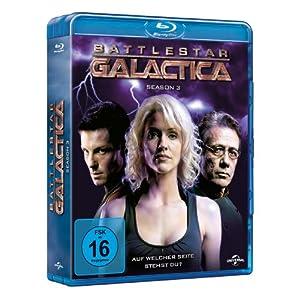 Battlestar Galactica-Season 3 [Blu-ray] [Import allemand]