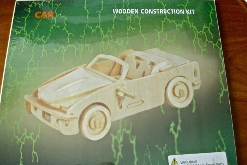 Car - Wooden Construction Kit