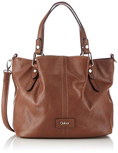 Gabor-MARISA-7357-Damen-Henkeltaschen-34x26x18-cm-B-x-H-x-T-Braun-cognac-Handtasche