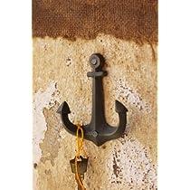"""Anchor Coat Hook, 4"""" X 3"""""""