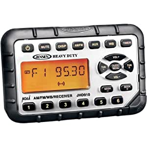 JHD910 Heavy Duty MINI Waterproof AM/FM/WB Radio