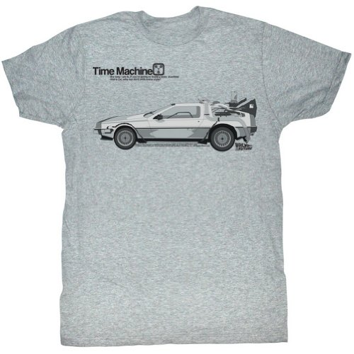 Back To The Future - Mens Delorean T-Shirt,