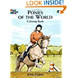 Ponies of the World Coloring Book (Dover Nature Coloring Book)