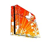 Rising Sun Butterflies & Flowers Background Design Print Image Playstation 4 Ps4 Console Vinyl Decal Sticker Skin...